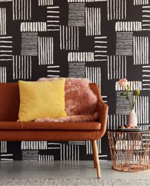 DesignDroom/SBS6 aflevering 15 november 377133 Stripes+ Behang - Eijffinger