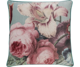 Rasch Kussen 200282 KL-H Gallery 04/Rosa Aqua  Barbara Home Collection
