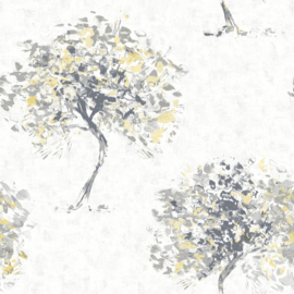 Dutch Wallcoverings Kaleidoscope Behang 90650 Beacon Fell Yellow/Natuurlijk