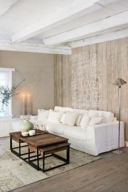 Voca/BNInternational Riviera Maison 30601  Sloophout/Stempel/Landelijk/Vintage Fotobehang
