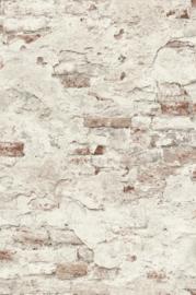 Rasch Factory 3 Behang 939309 Stenen/Verweerd Cement/Bakstenen/Landelijk/Modern