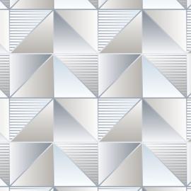 Rasch Galerie Geometrix Behang GX37634 Geometrisch/Modern/Driehoek