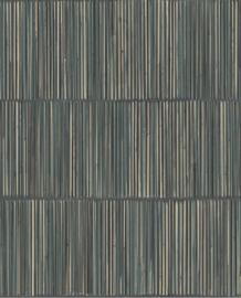 Eijffinger Terra Behang 391511 Natuurlijk/Etnisch/Strepen/Bamboe