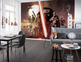Disney 8-492 Star Wars EP7 Collage Fotobehang  - Noordwand