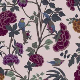 Hookedonwalls Daimon Behang DA23241 Bloemen/Landelijk/Botanisch/Modern/Roze