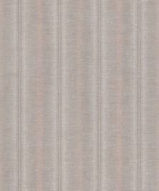 BN Walls/Voca Grounded Behang 220630 Obanzi/Streep/Linnen Structuur/Natuurlijk