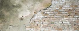 Dimex Fotobehang Grunge Wall MP-2-0168 Panorama/Steen/Cement/Baksteen