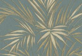 Hookedonwalls Tropical Blend Behang 33610 Kenzia/Botanisch/Bladeren/Natuurlijk