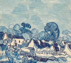 BN Wallcoverings van Gogh 2 Digitale Fotobehang 200332 Landscape with Houses/Landschap