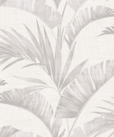 Journeys 610600 Banana Palm Chalk Grey Behang - Arthouse/Atwalls