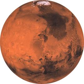 Komar Home Imagine Edition 4 Fotobehang D1-018 Mars/Planeet/CirkelModern