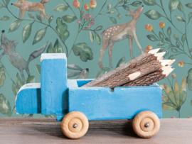 BN Wallcoverings Doodleedo Behang 220703 Catch me if you can/Tropical/Mix & Match/Botanisch/Dieren/Kinderkamer