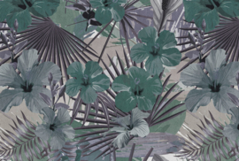 AS Creation Living Walls by Patel Fotobehang DD111072 Hibiscus 3/Botanisch/Planten/Modern Behang