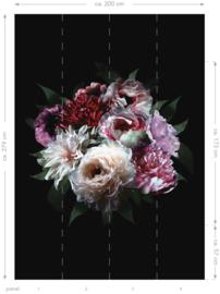Esta Home Paradise Fotobehang 158944 Flower Bouquet/Bloemen/Klassiek/Modern