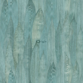 Origin Identity Behang 345-347369 Dieren/Veren/Blauw Groen