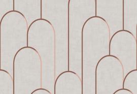 Hookedonwalls Moments Behang MO22830 Grafisch/Modern/Bogen