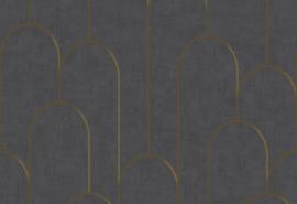 Hookedonwalls Moments Behang MO22833 Modern/Grafisch/Bogen