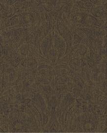 Eijffinger Sundari  Behang 375126 Barok/Etnisch/Verweerde Look/Zwart/Goud
