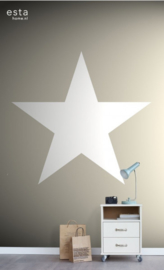 Esta XL Photowalls For Kids Behang 158706 Star/Neutral/Kinderkamer Fotobehang