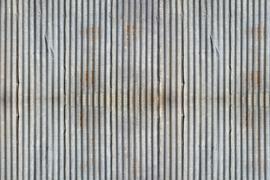 AS Creation Wallpaper 3 XXL Fotobehang 471742 XL Wellblech/Golfplaat/Industrieel
