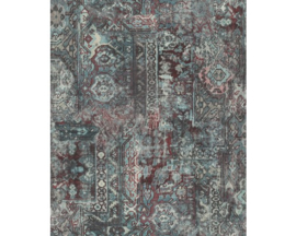 Rasch Barbara Home Collection  Behang 536546 Vintage/Verweerd/Textiel Look