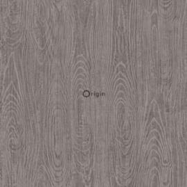 Origin Matieres Wood Behang 348-347556 Hout/Modern/Landelijk/Taupe
