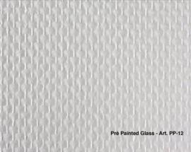 Intervos Glasweefsel Pre-Painted PP-12/Voorgesausd/Structuur/Vlies Behang