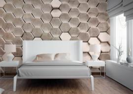 AS Creation Designwalls Fotobehang DD118724 Hexagon Surface 2/Modern/3D