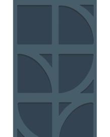 Eijffinger Bold Behang 395805 Grafisch/Modern/Geometrisch/Blauw