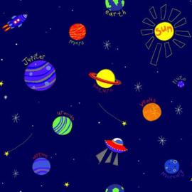 Behangexpresse Havana Behang HA68466 Heelal/Planeten/Mars/Jupiter/Space