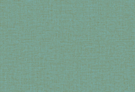 Hookedonwalls Botanical Behang 19766 Hibiscus/Uni/Textiel Look/Natuurlijk/Modern