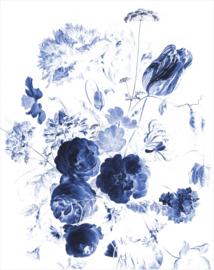 KEK Amsterdam II Fotobehang PA-041 Royal Blue Flowers/Bloemen/Blauw
