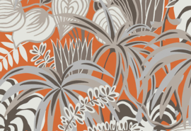 Hookedonwalls Jungle Jive Behang 36515 Botanisch/Bladeren/Planten