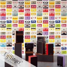 Eijffinger Wallpower Wonders Behang 321523 Audio Mix/Muziek/Radio Fotobehang