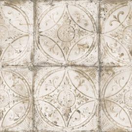 Noordwand Grunge Behang G45374 Landelijk/Romantisch/Klassiek/Tegel/Ornament