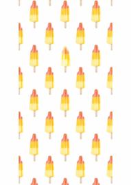 Kek Amsterdam Behangpaneel Popsicles 2D WP-058 Waterijsjes/Raket/Kinderkamer Fotobehang