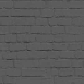 Esta Home Black & White Behang 155-138535 Steen/Baksteen/Modern/Landelijk/Zwart