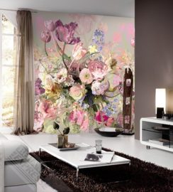 Behangexpresse Colorful Behang INK7291 Flower Explosion/Bloemen/Romantisch Fotobehang