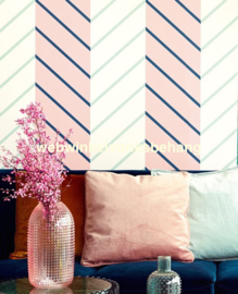 Eijffinger Stripes+  Behang 377141 Strepen/Chevron