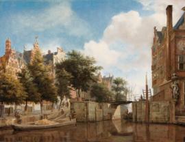 Painted Memories 2 Fotobehang 8048 Amsterdamse Herengracht/Steden