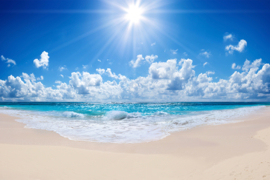 AS Creation Wallpaper 3 XXL Fotobehang 471688 Beach 3/Strand/Zee/Wolken