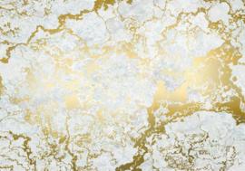 Noordwand Komar Raw Fotobehang RSX8-056 Marbelous/Marmer/Modern/Goud