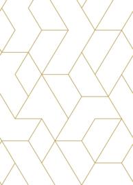 Esta Home Art Deco Fotobehang 158962 Graphic Lines/Grafische Lijnen/Modern