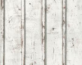 AS Creation Elements Behang 95370-1 Hout/Landelijk/Verweerd/Natuurlijk/Planken