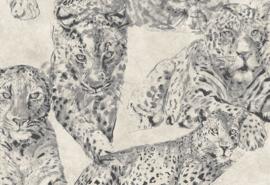 Hookedonwalls Blooming Behang BL22720 Dieren/Panther/Panter/Natuurlijk