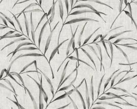 AS Creation Greenery Behang 37335-2 Botanisch/Bladeren/Natuurlijk/Grijs