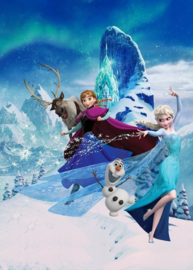 Noordwand/Komar Disney Edition4 Fotobehang DX4-014 Frozen Elsa'a Magic/Elsa/Anna Behang