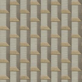 Dutch Wallcoverings Wallstitch Behang DE120073 Modern/3D/Linnen Structuur/Abstract