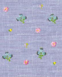 Eijffinger Rice Behang 359155 Bloemen/Raffia/Jute/Natuurlijk Fotobehang