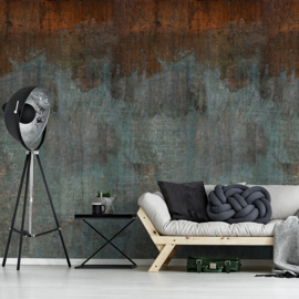 Dutch Wallcoverings One Roll One Motif Behang A43101 NY Plain/Beton/Verweerd/Modern/Industrieel